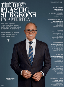 The Best Plastic Surgeons in America featuring Dr. Tehrani